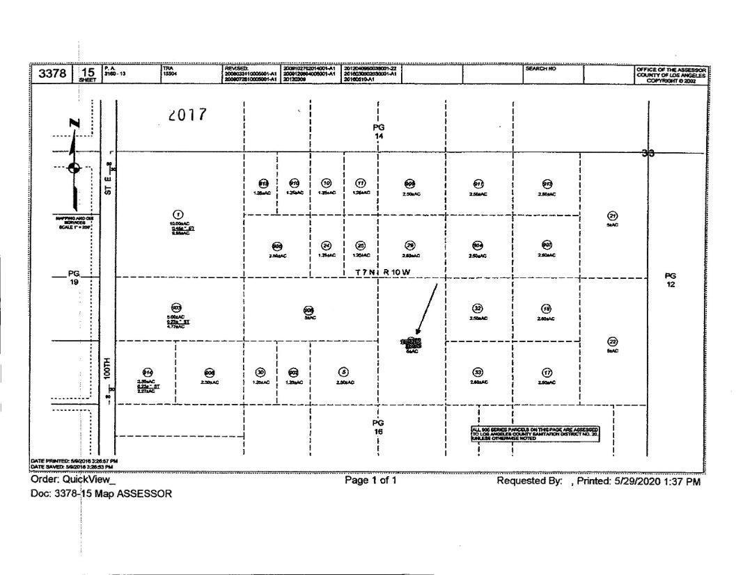 Vac/Vic Avenue L12/13 Ste, PALMDALE, Vacant Land / Lot,  for sale, Realty World - Golden Hills